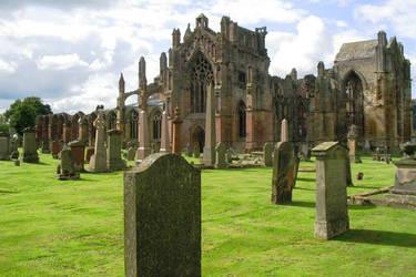Scotland, Melrose Abbey by elodie50a