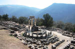 Greece, Delphi Athena temple