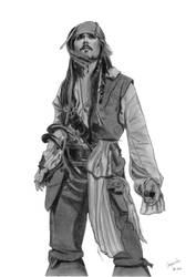 Jack Sparrow on Stranger Tides by elodie50a