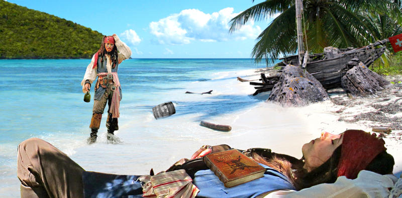 A pirate's life for me by elodie50a