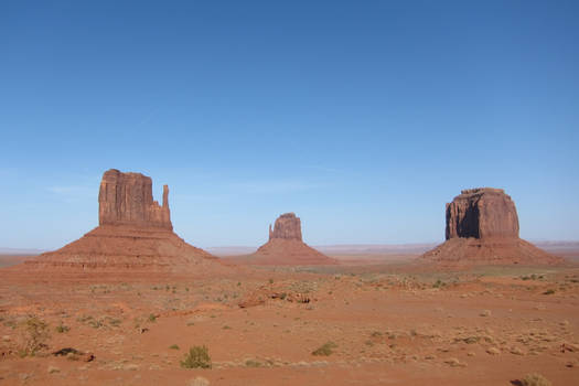 Desert - Monument Valley, Mythical view