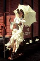 EloSteam Train Umbrella by elodie50a