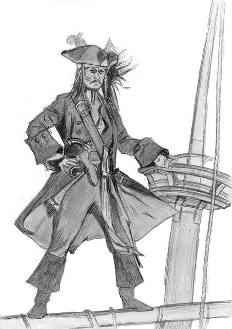 1st Jack Sparrow 2006 by elodie50a
