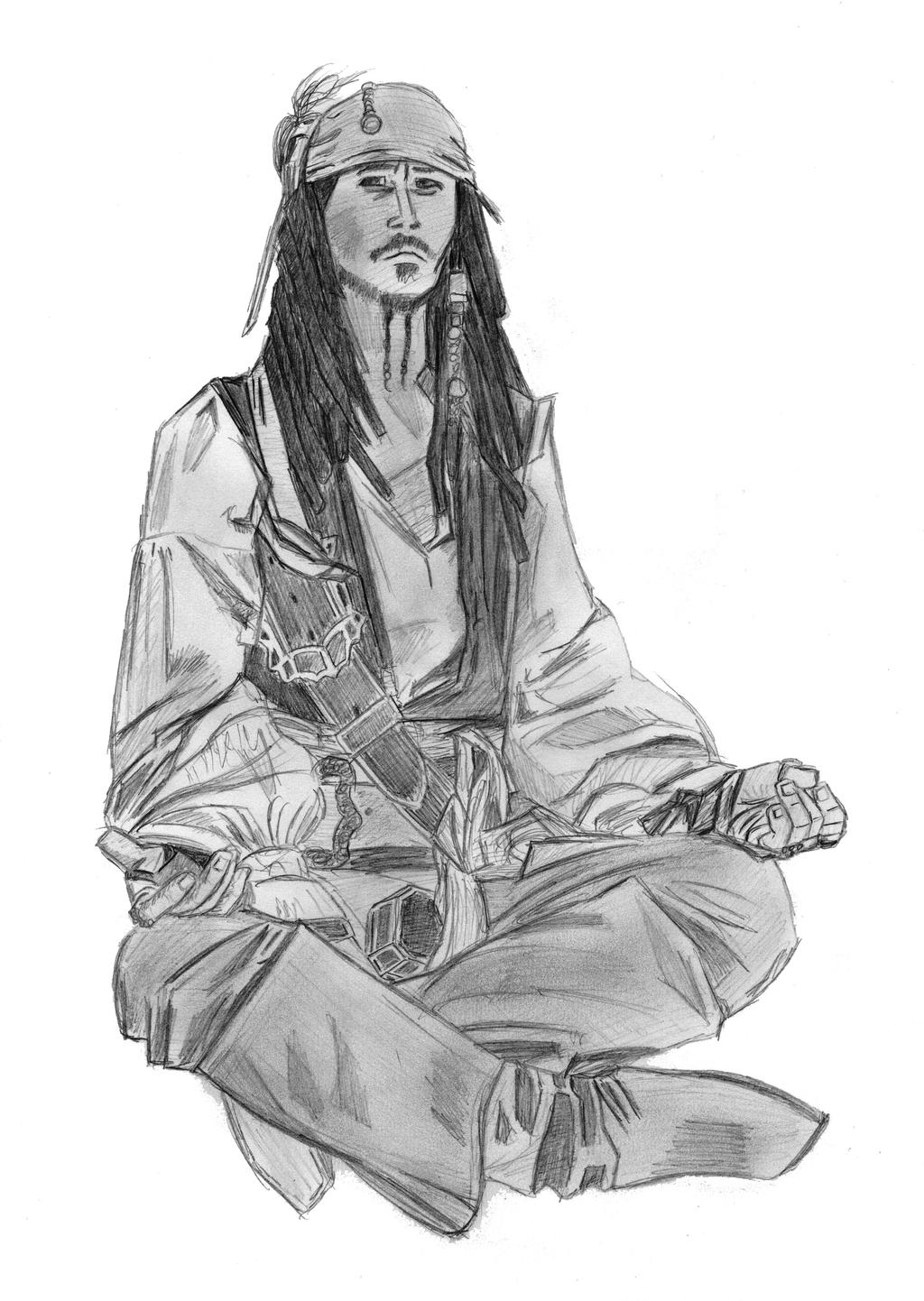 Jack Sparrow 2006 by elodie50a
