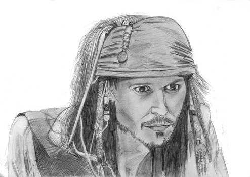 Jack Sparrow face 2006