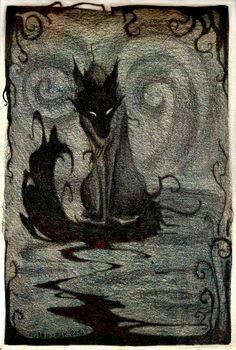 nightmare wolf 2 by Thomastruman
