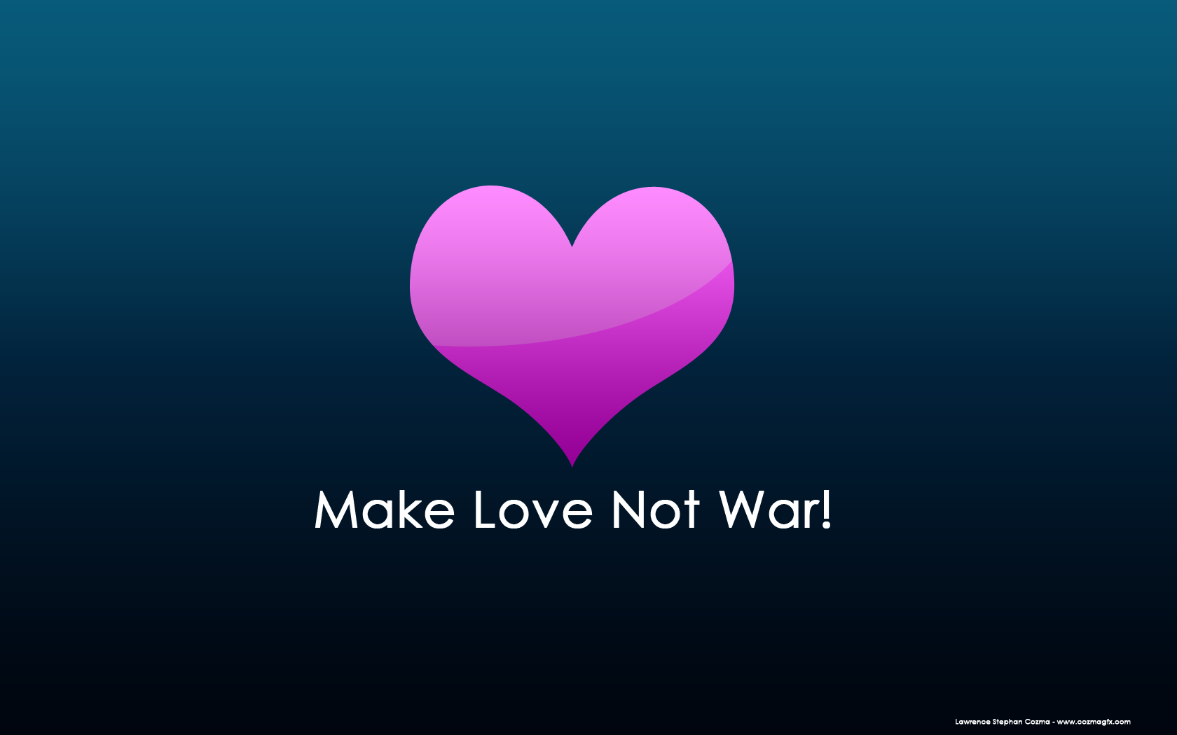Making Love Images Wallpaper : Make Love Not War by cozmanator on DeviantArt