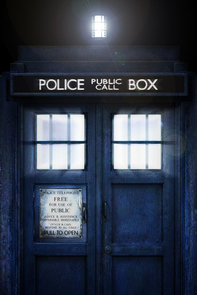 Tardis Wallpaper by Jaredk8