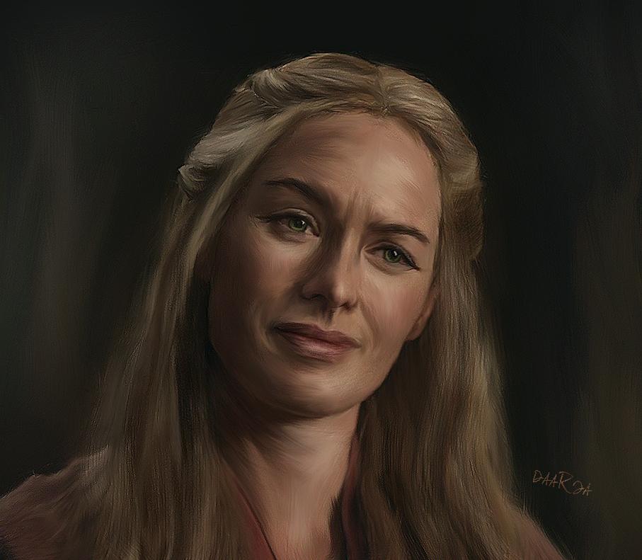 Game of Thrones - Cersei by DaaRia