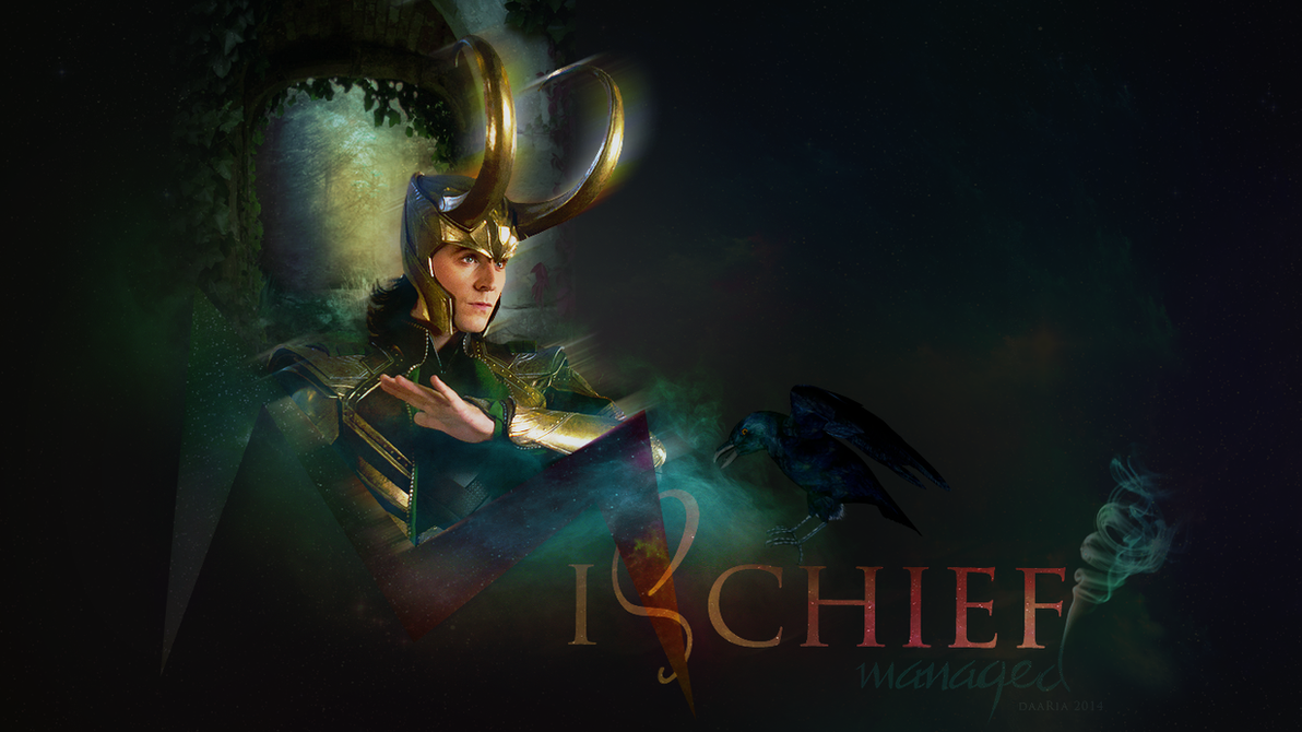 Loki's magic by DaaRia