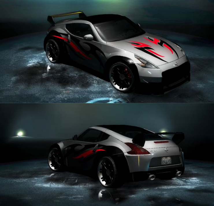 Tekken 370z by Tekkensennin
