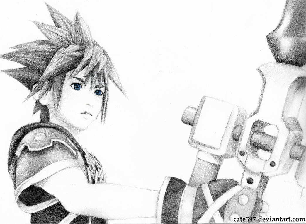 Kingdom Hearts III: Sora by Cate397