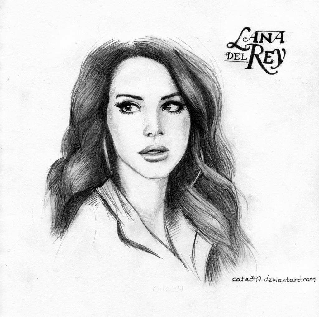 Lana Del Rey By Cate397 On Deviantart
