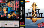 Neo geo CD cover especial Box Last Resort