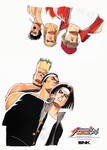 NACHGUL POSTER KING OF FIGHTERS 94 SNK NEOGEO
