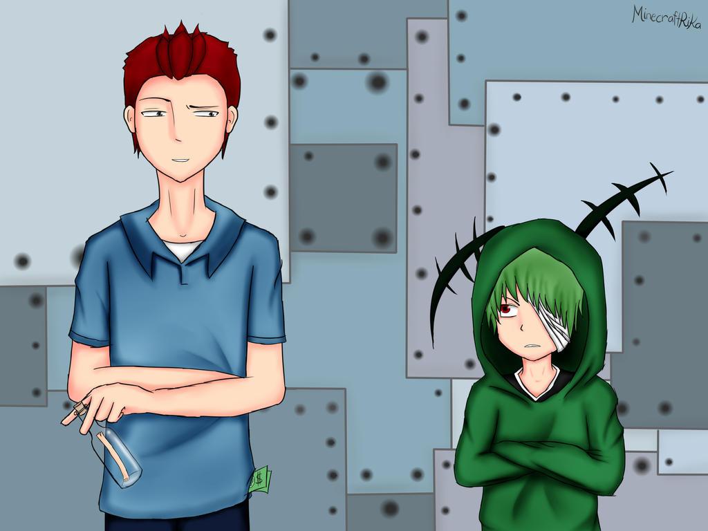 mr krabs and plankton anime by minecraftrika on deviantart
