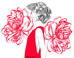 RED: Red flower