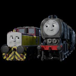 'You look like a diesel...'