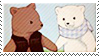 Shirokuma Cafe Stamp by YumeBabu-chan