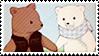 Shirokuma Cafe Stamp by YumeBabu-chan