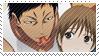 Aomine x Sakurai Stamp by YumeBabu-chan