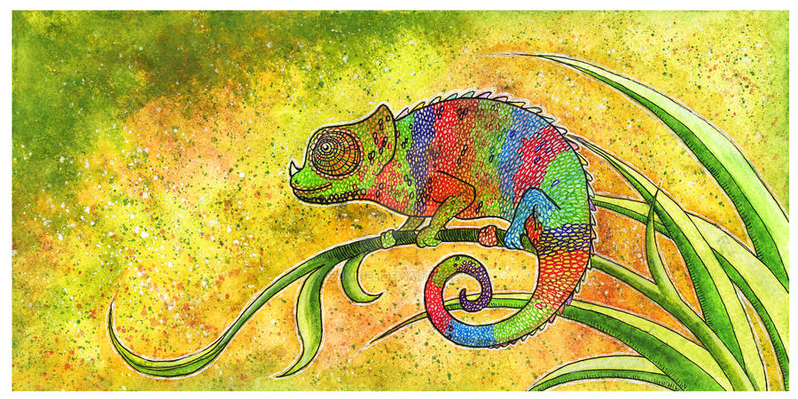 Chameleon by Izumigee