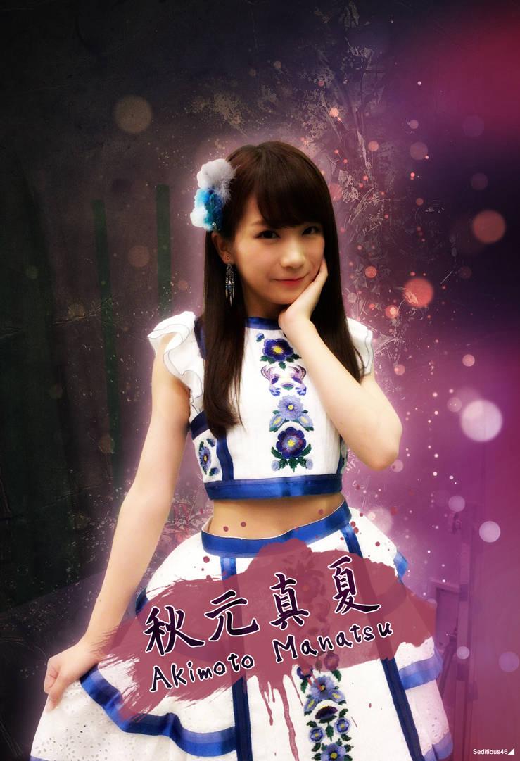 Nogizaka46 Bijin series #2: Akimoto Manatsu by Seditious46