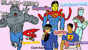 the many forms of Superman