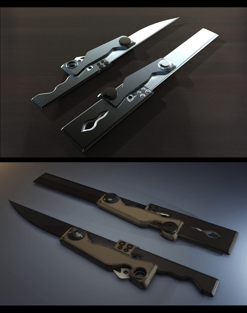 concept knife by gamka