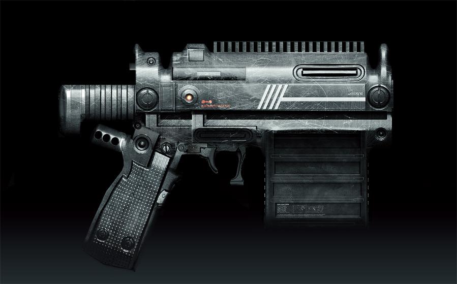 Gun by gamka