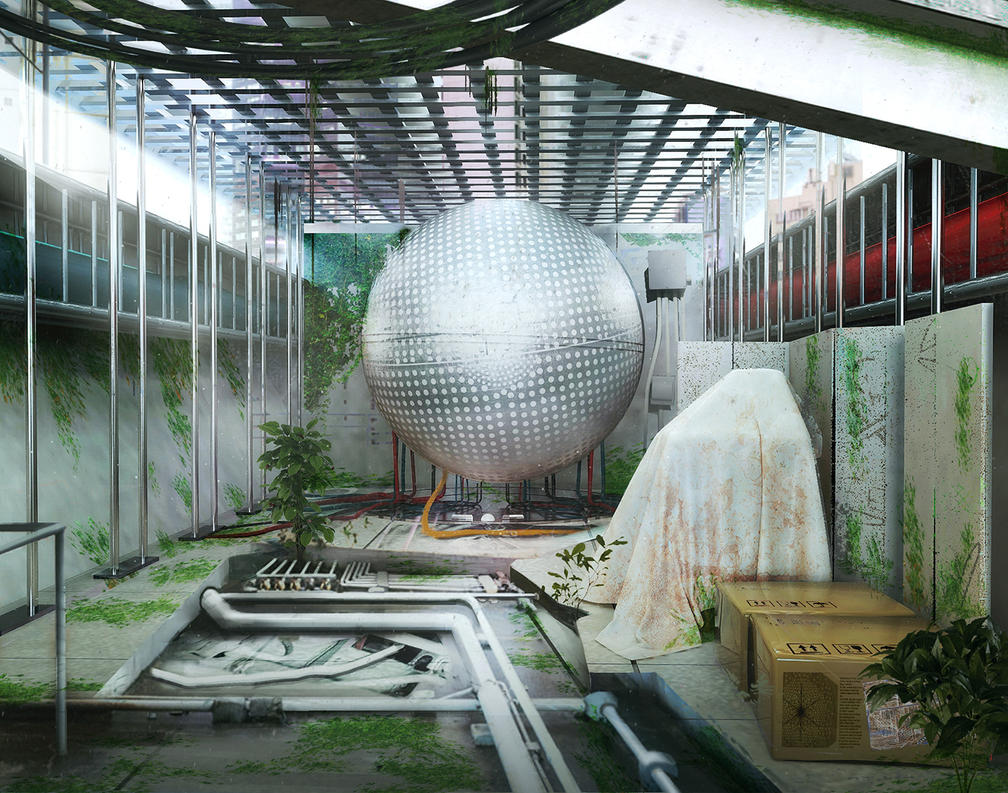 the Sphere 01 by gamka