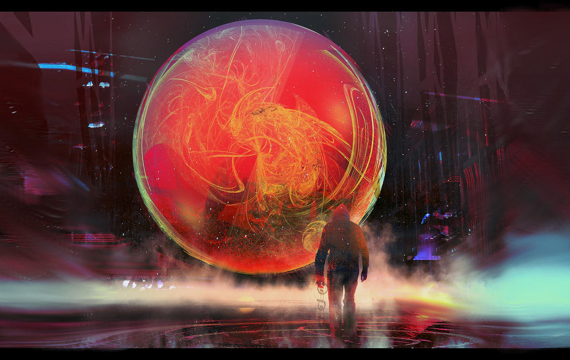 the Sphere 02 by gamka