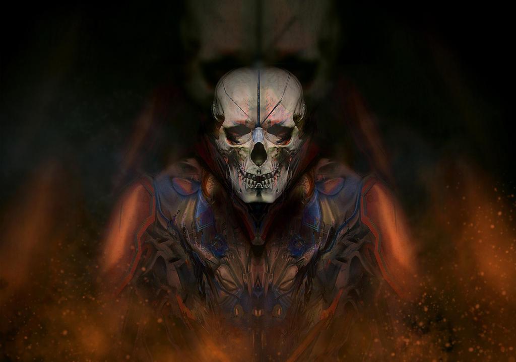 Skull by gamka