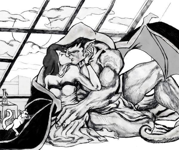 Elisa And Goliath Kiss