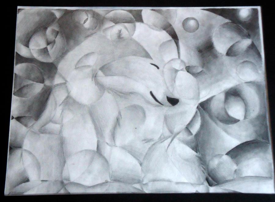 Shattered value polar bear by polarbear1234