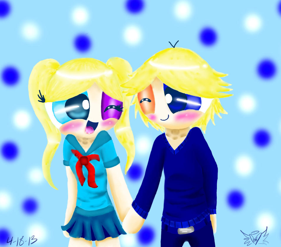 Bubbles + Boomer school uniforms by polarbear1234 on ...