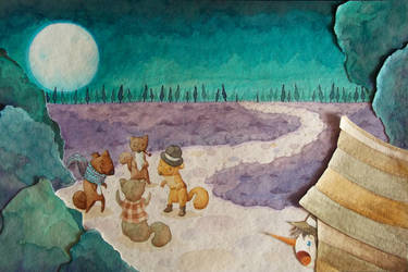 Muestra ilustracion - Pinocho
