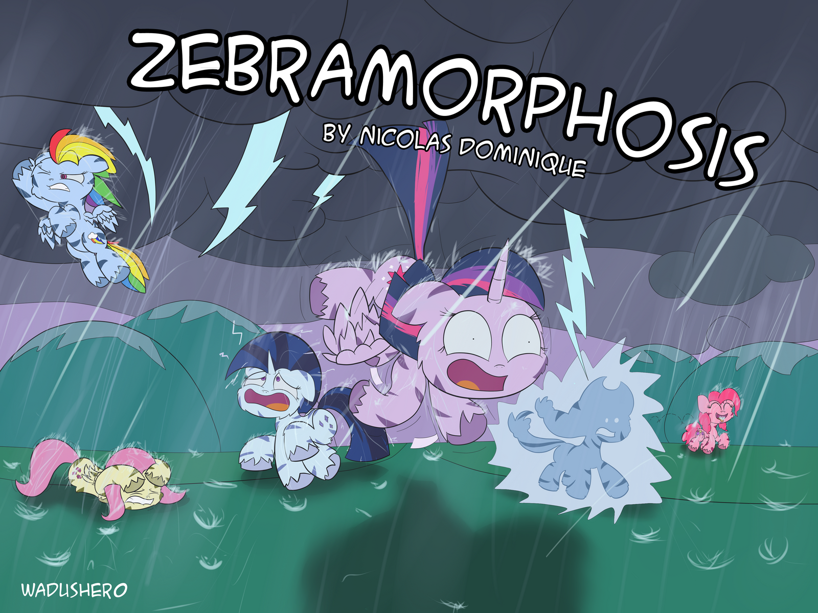Zebramorphosis Cover by Wadusher0