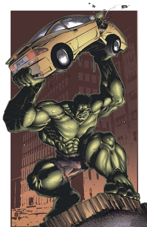 Hulk by DashMartin