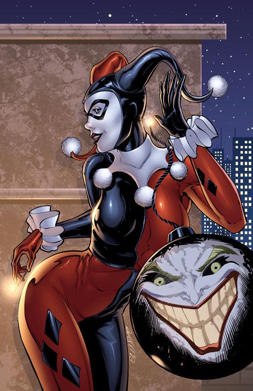 Harley Quinn - Bombs Away! by DashMartin