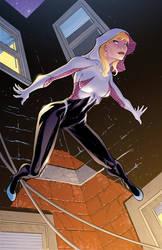Spider-Gwen by DashMartin