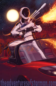 Starman Arrives on Mars