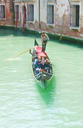 Venecian Gondola by huina