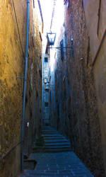 Cortona Dark Alley by huina