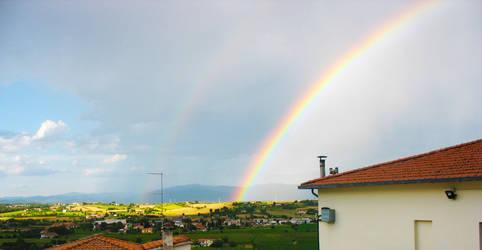 Splendid Rainbow by huina
