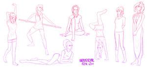 Pose Study - 1 by Industrialfox