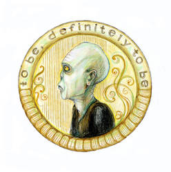 coin with Voldemort