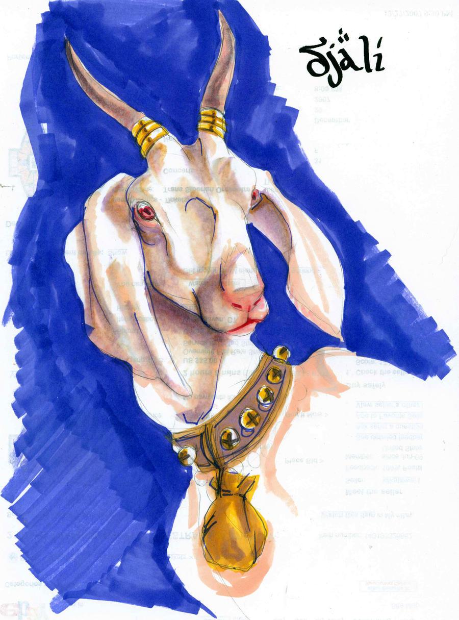 Djali Goat Disney