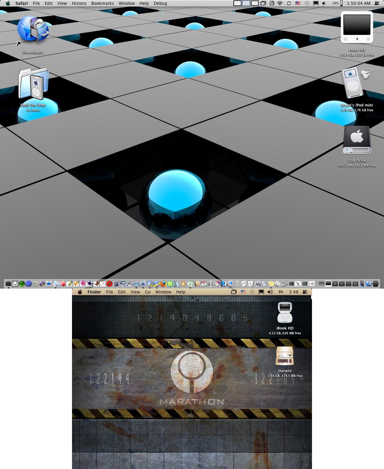 eMac + iBook Screenies, March by pakkman781