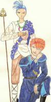 Tasuki and Chichiri